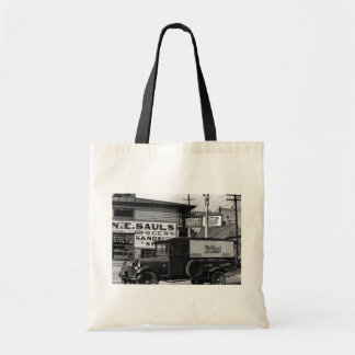 New Orleans street corner  Louisiana Canvas Bag