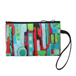 New Orleans Street Key Coin Clutch