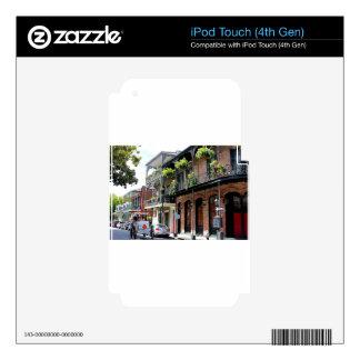 New Orleans Street Scene iPod Touch 4G Skins