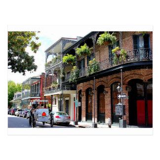 New Orleans Street Scene Postcard
