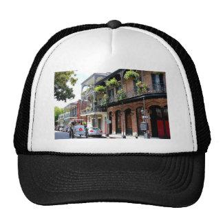 New Orleans Street Scene Trucker Hat