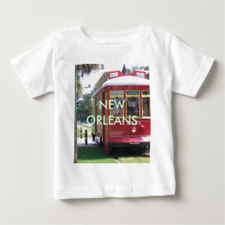 New Orleans Streetcar Baby T-Shirt