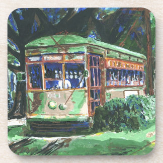 New Orleans Streetcar Beverage Coaster
