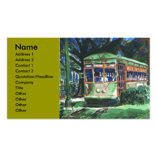New Orleans Streetcar, Double-Sided Standard Business Cards (Pack Of 100)