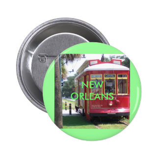 New Orleans Streetcar Buttons
