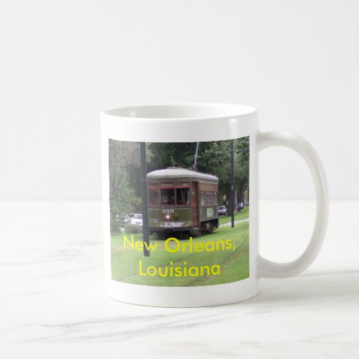 New Orleans Streetcar Classic White Coffee Mug