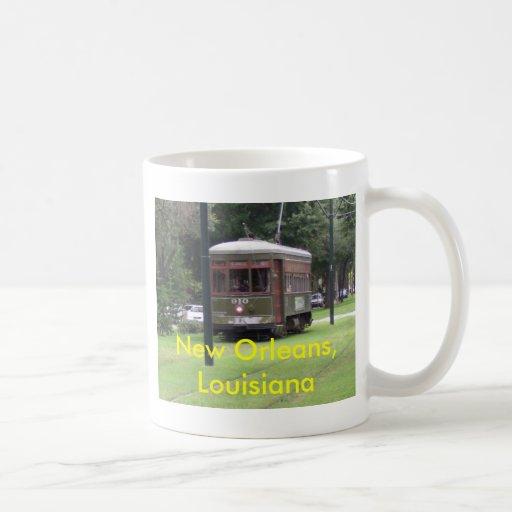 New Orleans Streetcar Coffee Mugs
