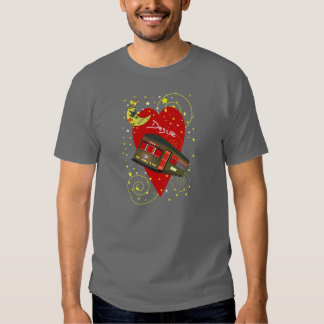 New Orleans Streetcar Desire Crescent Moon T Shirt