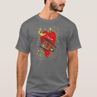 New Orleans Streetcar Desire Crescent Moon T-Shirt