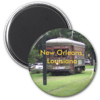New Orleans Streetcar Refrigerator Magnets