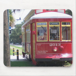 New Orleans Streetcar Mouse Pad