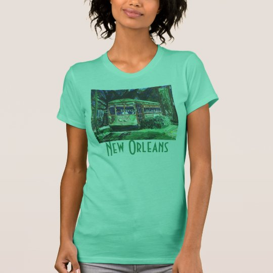 New Orleans Streetcar, New Orleans T-Shirt