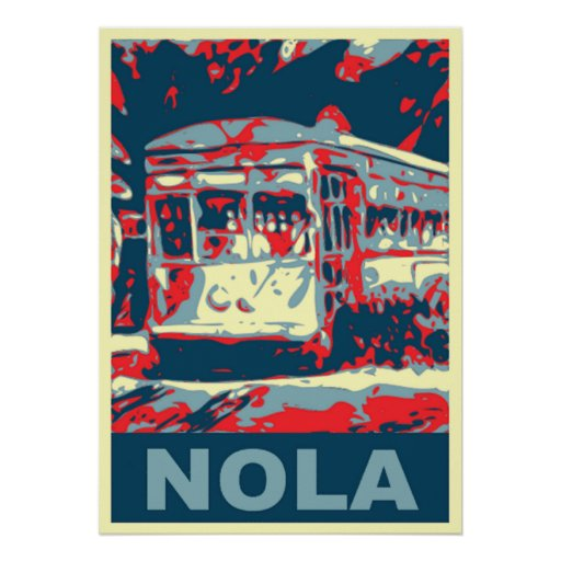 New Orleans Streetcar Posters