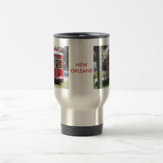New Orleans Streetcar Travel Mug