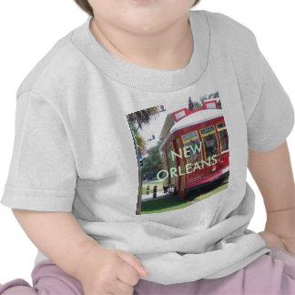 New Orleans Streetcar Tee Shirts