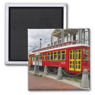 New Orleans Streetcart Imán Para Frigorífico