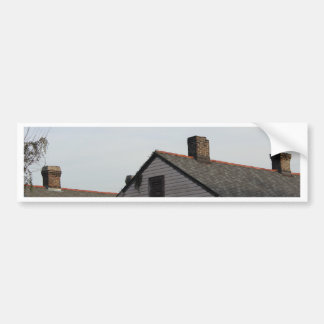 New Orleans style house 2 Bumper Sticker