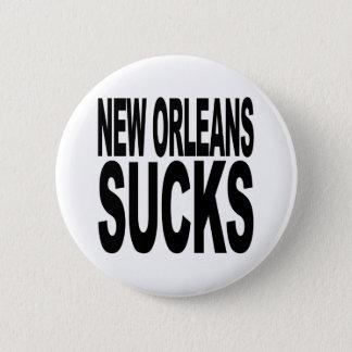 New Orleans Sucks Pinback Button