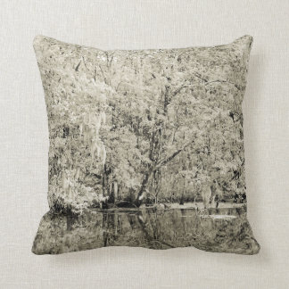 New Orleans Swamp Throw Pillow