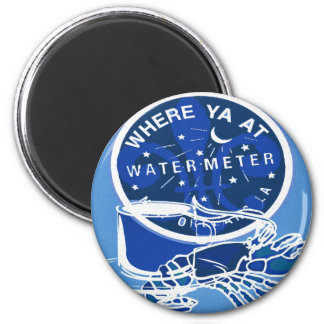 New Orleans Symbols French Quarter Meter Cover Magnet