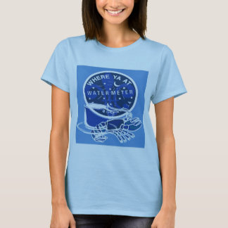 New Orleans Symbols French Quarter Meter Cover T-Shirt