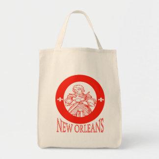New Orleans Symbols Tote Bag