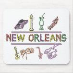 New Orleans Tapetes De Ratones