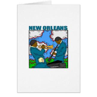 New Orleans Tarjeta De Felicitación