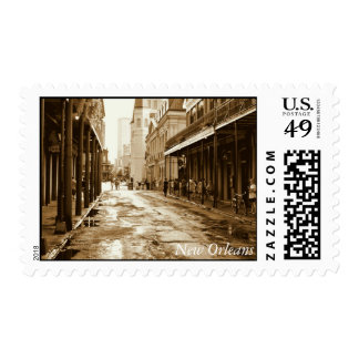 New Orleans: The French Quarter Postage Stamps