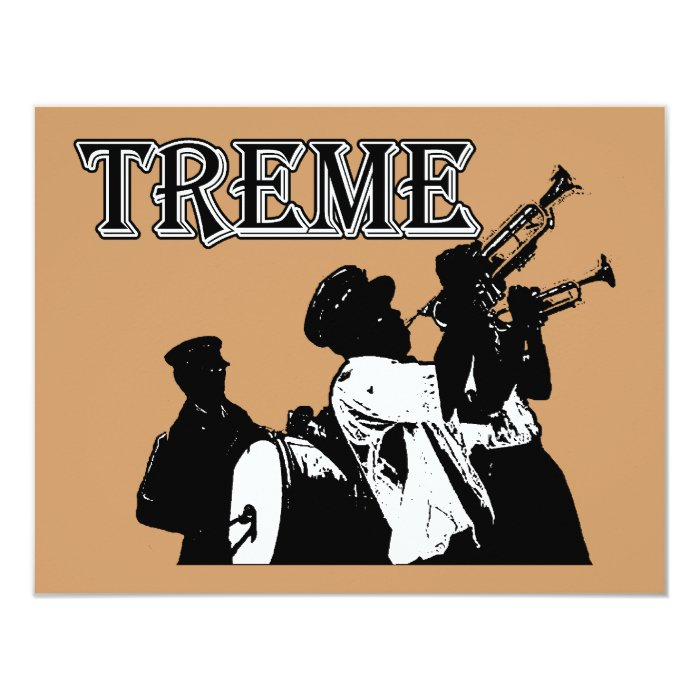 New Orleans, Treme Card
