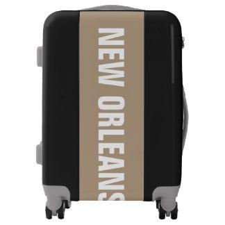 NEW ORLEANS, Typo white Luggage
