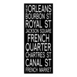 New Orleans | Typography Posters
