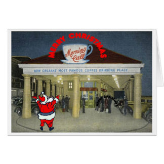 New Orleans Vintage Christmas Card