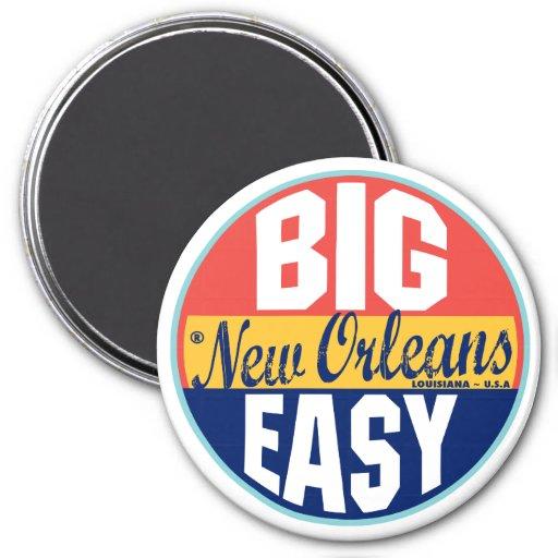 New Orleans Vintage Label Refrigerator Magnet