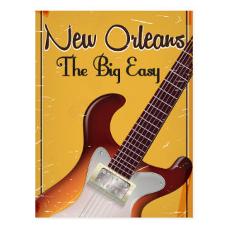 New Orleans vintage style travel poster Postcard