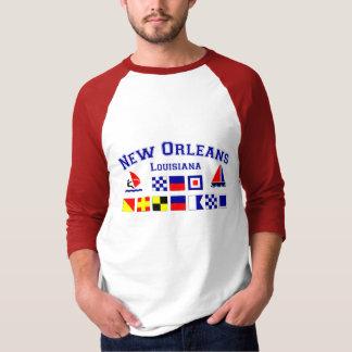 New Orleans w/ Maritime Flags T-Shirt