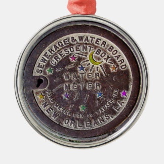 New Orleans Water Meter Christmas Ornament