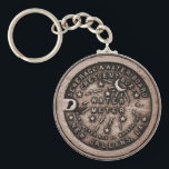 "New Orleans Water Meter Cover Keychain<br><div class=""desc"">New Orleans Water Meter Cover on a Key Chain.</div>"