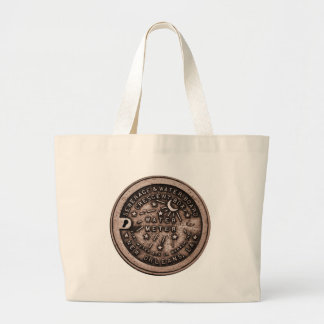 New Orleans Water Meter Cover Large Tote Bag