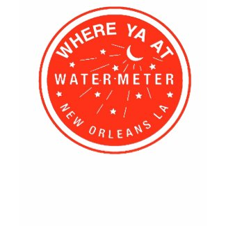 New Orleans Water Meter Cover Red shirt