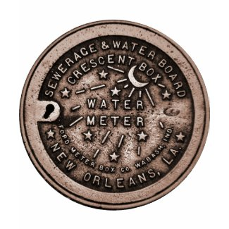 New Orleans Water Meter Cover shirt
