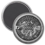 New Orleans Water Meter Lid 3 Inch Round Magnet