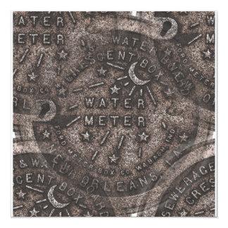 New Orleans Water Meter Lid Card