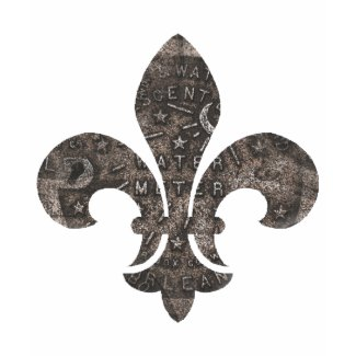 New Orleans Water Meter Lid Fleur De Lid shirt