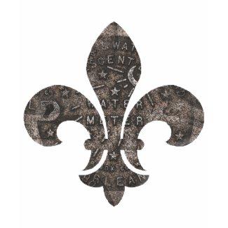 New Orleans Water Meter Lid Fleur De Lis shirt