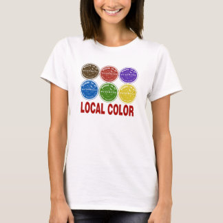 New Orleans Water Meter Local Colors T-Shirt