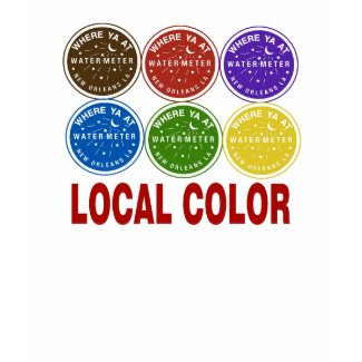 New Orleans Water Meter Local Colors shirt