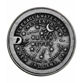 New Orleans Water Meter Shirt shirt