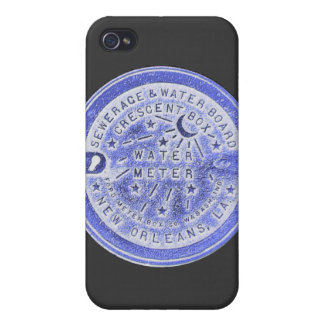 New Orleans Water Meter Wall Art Cover For iPhone 4