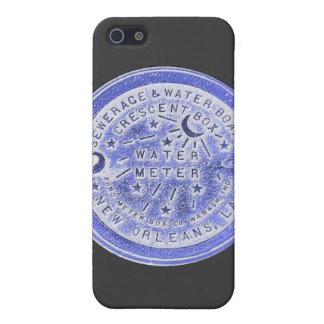 New Orleans Water Meter Wall Art iPhone 5 Cases